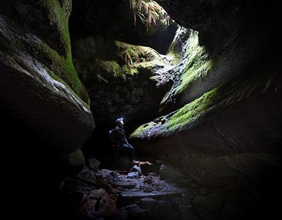 Cave Dwelling - Cougar, WA Ape Caves