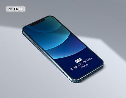 Free iPhone 12 Pro Max Mockup