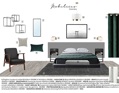 Bedroom : Minimal & Modern