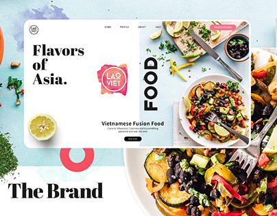 Branding design / Lao Viet Restaurant
