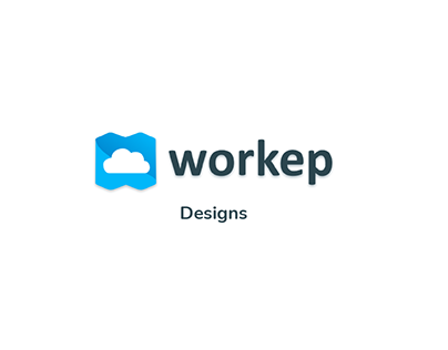 UI Designs for Workep Inc