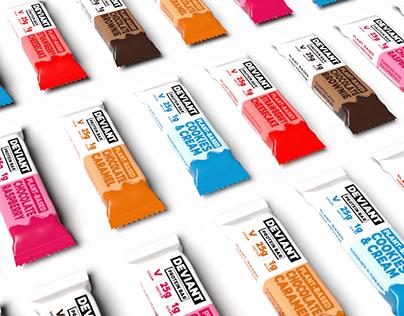 Deviant - Branding, Packaging & Web Design