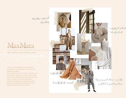 Max Mara Capsule Collection