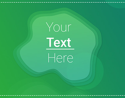 Cool green background for graphics design