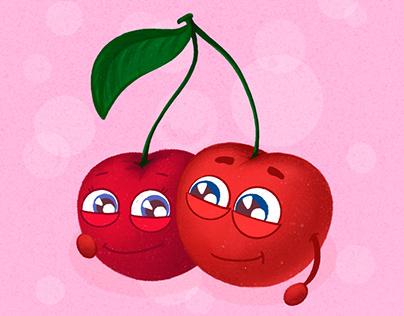 Illustrations | Cute fruits