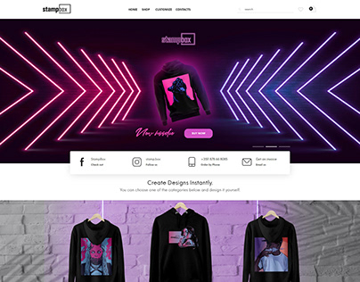 StampBox Website