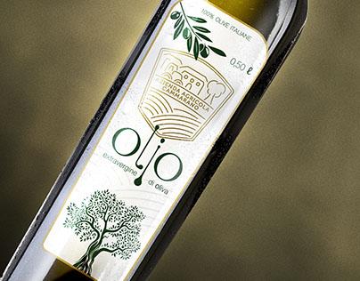 Azienda Agricola Cammarano logo & olive oil labels
