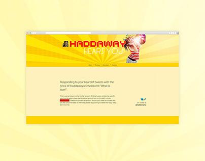 Haddaway Hears You