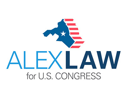 Alex Law Congressional Candidate Branding