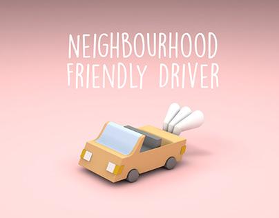 Motion Graphic - Neighbourhood Friendly Driver