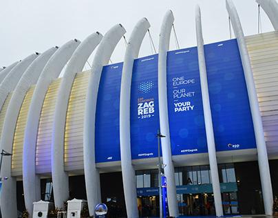 Event Branding | EPP Zagreb Congress 2019