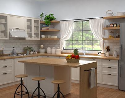Escenografía comercial - Oster - Cocina Clásica
