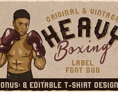 Heavy Boxing - Font Duo