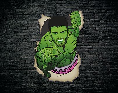 SuperHero.ai - Hulk