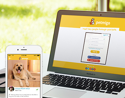 Petmigo - Social Network Dedicated for Pets