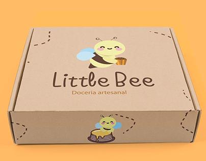 Identidade Visual - Little Bee Doceria