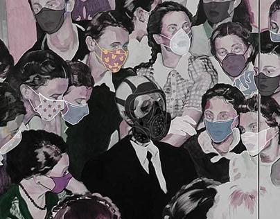 Scared People: COVID-19/ Kiss 2020/ Selfie 2020