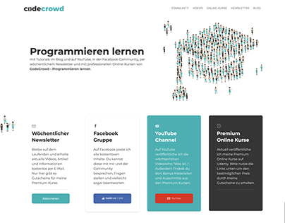 In Browser-Design for CodeCrowd