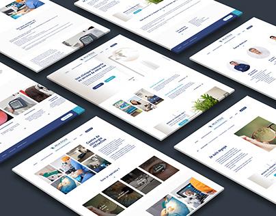 Identité et Site web pour Clinique Belle Etoile