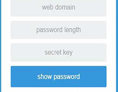 SE Secure Password Generator