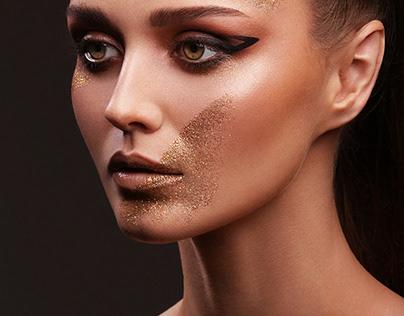 Golden Strokes | Beauty Retouch