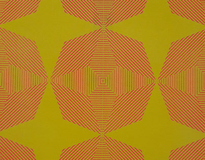 Riso print in flouro-pink and yellow