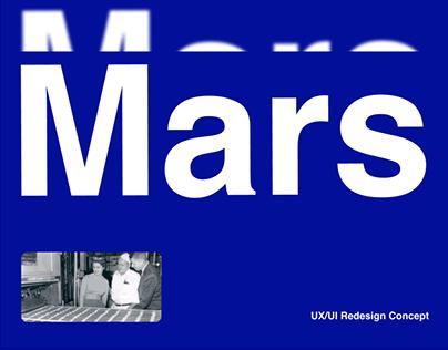 Mars - Website Redesign