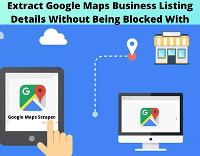 Extract Google Maps Business Listing Details