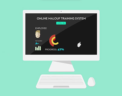 Malouf Learning Management System Animation