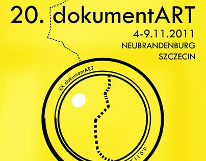 Visual Identity for 20 Dokumentart