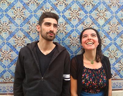 Duo Helena Reis e Tiago Amaral