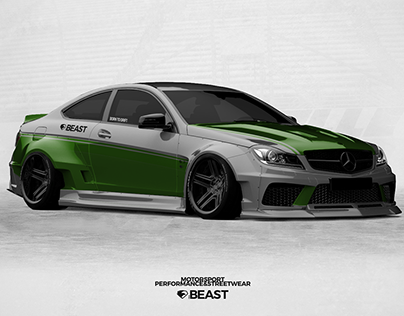 Mercedes C63 widebody | livery concept