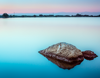 Tranquillity at the lagoon