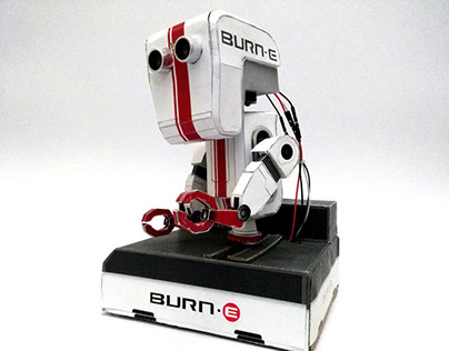 Arduino Paper Craft Robot