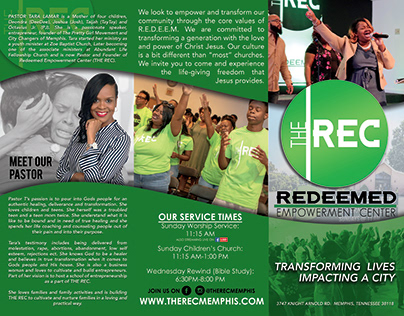 Welcome Brochure - Church: The REC