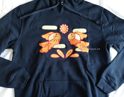 Embroidered Sweater - Goldfish (2020)