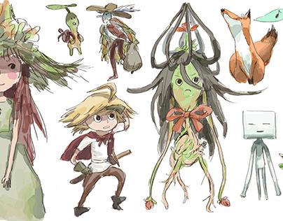 Terra Concept Sketches
