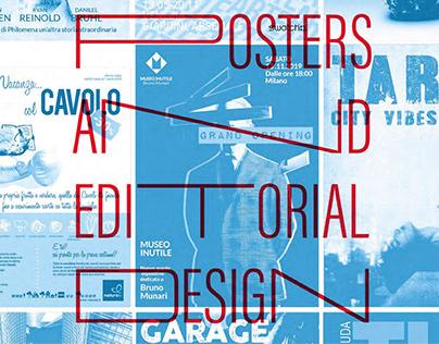 Poster & editorial design