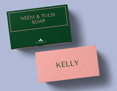 Packaging Design for Kelly : Handmade Luxury Soap