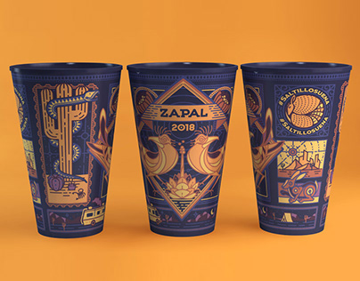 Vaso para Festival Zapal
