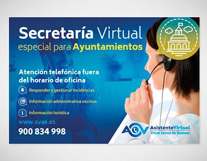 Asistente Virtual | Anuncio secretaría virtual