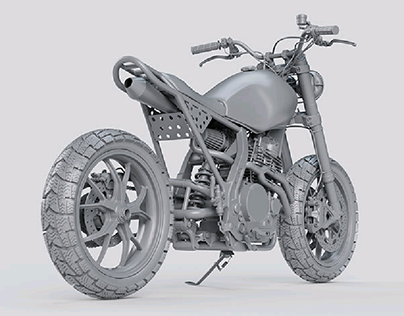 Honda NX650 Custom Tracker