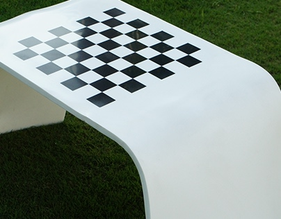 Royale Play | Corian Chess Table