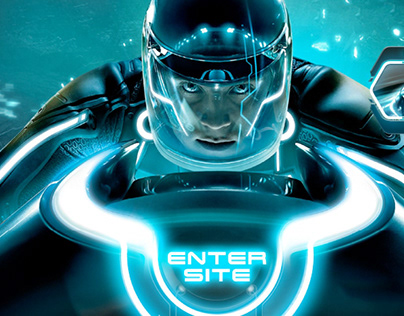 Tron: Legacy Theatrical Film Site and Game