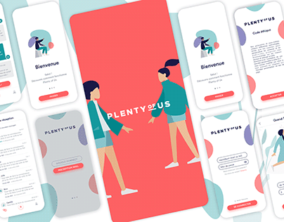 Meeting app UI design