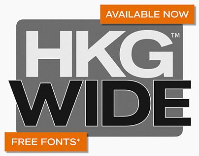 HK Grotesk Wide - Free Fonts