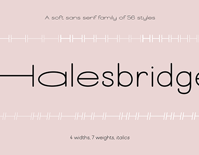 New variable width and weight sans font family