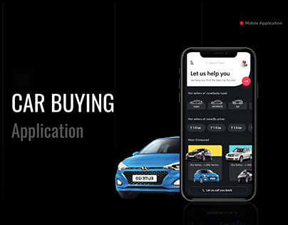 Car buying and comparison application