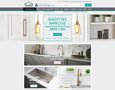 Homepage Design build.com