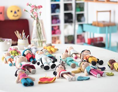 Crochet Amigurumi Dolls